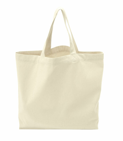 COTTOVER TOTE BAG (GOTS) L / 290g NATURAL One Size