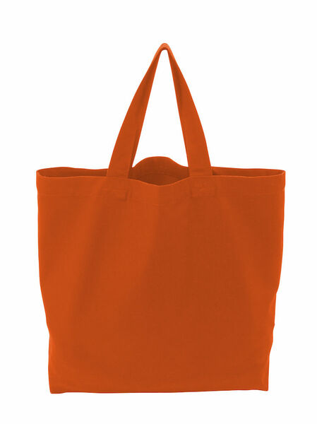 COTTOVER TOTE BAG (GOTS) L / 290g ORANGE One Size
