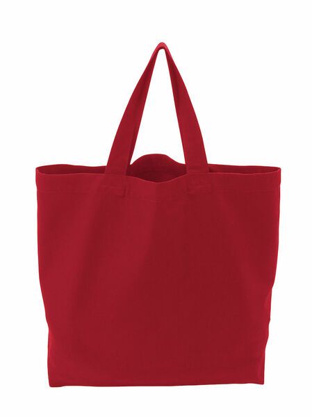 COTTOVER TOTE BAG (GOTS) L / 290g RED One Size