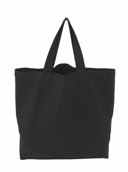 COTTOVER TOTE BAG (GOTS) L / 290g BLACK One Size